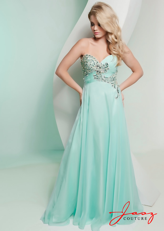Mint Green Prom Dresses 2013